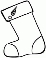 christmas stocking coloring pages sock stocking colouring pages coloring home