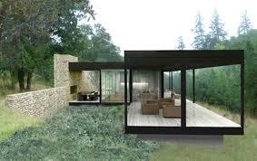 Affordable Home Plans Splendid Small Modern Prefab Home Design With Grey Wall Siding