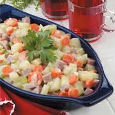 microwave potato ham dinner recipe taste of home
