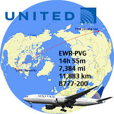 united airlines hubs top 14 longest united flights in the world airliners net