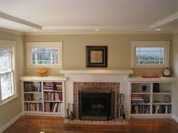 Mantel Bookshelf Stunning Built Ins For Living Room Using Bookshelf Ideas Around