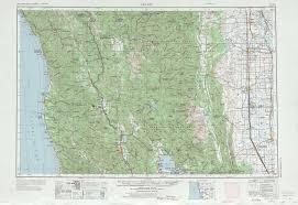 map ukiah ukiah topographic maps ca usgs topo 39122a1 at 1 250 000 scale