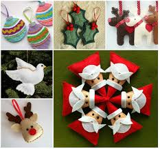 felt christmas ornaments felt christmas ornaments pictures photos and images for