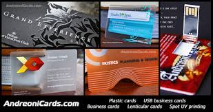 Plastic Business Card Printing Plastic Business Cards Andreonicards Com
