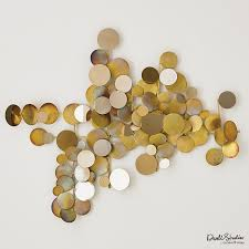 Zspmed of Gold Wall Decor