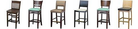 Wood Bar Chairs Beech Wood Dining Chairs Bar Stools For Restaurants Cafe Bar On