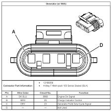 gm 4 wire alternator wiring diagram gooddy org