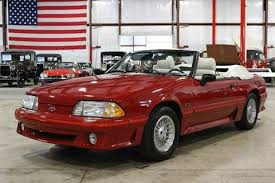 Black Mustang Gt Convertible For Sale 1988 Ford Mustang For Sale Carsforsale Com