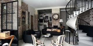 cuisine style usine deco style industriel dacco style industriel salon palettes
