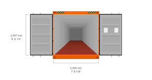 Interior Dimensions Of A Shipping Container 40 U0027 Standard High Cube Hapag Lloyd