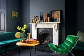 home color schemes living room contemporary with green sofa vases