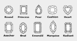 diamond ring cuts what diamond shapes work best for engagement rings