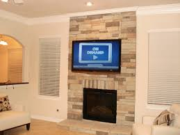 gallery articulating arm wall mount stone fireplace tv
