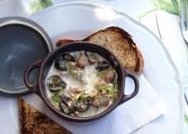 escargot cuisiné recette de cassolettes d escargots aux morilles recettes diététiques