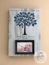 baby shower fingerprint tree baby shower fingerprint tree picture frame guest book alternative