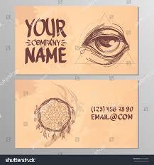 cards image eye catcher dreams templates stock vector 685725892
