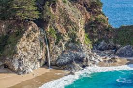 California Waterfalls images Waterfalls on the california coast beaches californiabeaches jpg