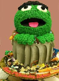 Oscar The Grouch Pumpkin Decorating by 3d Cakes Archives Oteri U0027s Italian Bakery U2026from Our Family To Your