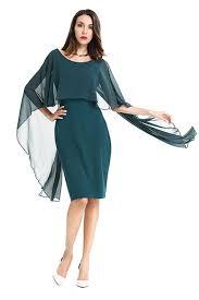 chiffon dress zumeet women bat sleeves styles chiffon dress army green zumeet