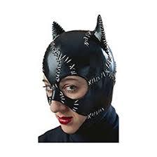Catwomen Halloween Costume Amazon Rubies Costume Catwoman Mask Clothing