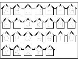 printable abc traceable worksheets activity shelter