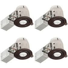 Outdoor Led Recessed Lighting by 3 In Recessed Lighting Ceiling Lights The Home Depot