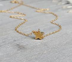 tiny necklace pendants images Tiny star necklace goldfilled star necklace mini pendant jpg