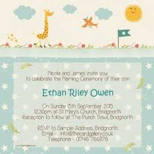Ceremony Cards F Naming Ceremony Invitations From Dotty About Paper