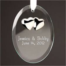 Personalized Wedding Christmas Ornaments 37 Best Wedding Christmas Ornaments Images On Pinterest Wedding