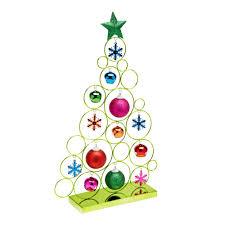 18 u201d geometric metal christmas tree christmas tree shops andthat