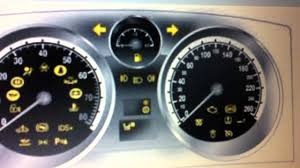 vauxhall zafira dashboard warning lights u0026 symbols what they