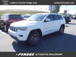 2018 New Jeep Grand Cherokee Limited 4x2 At Landers Chrysler Dodge