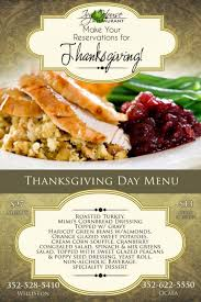 house thanksgiving menu ocala magazine