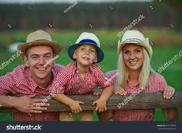 happy family country style stock photo 414727879 shutterstock