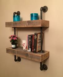 Barnwood Bookshelves by Reclaimed Barn Wood Floating Shelves Mounted By Prairiewoodworking