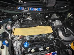 nissan murano oil filter location spark plug replacement diy 3 5 v6 write up nissan forums