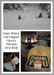 enjoy winter and support literacy through first book day by day