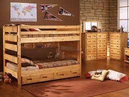 Big Sky Full Over Full Bunk Bed HOM Furniture Furniture Stores - Full over full bunk bed