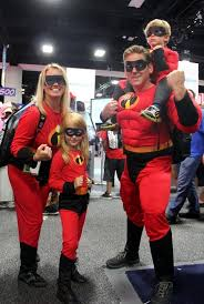 Incredibles Family Halloween Costumes 42 Family Cosplay Ideas Comic Images