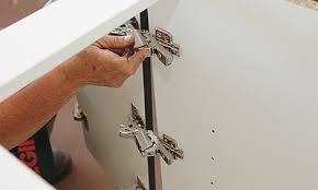 How To Hinge A Cabinet Door How To Hang Corner Cabinet Doors Bunnings Warehouse