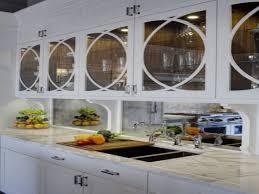 antique tile backsplash kitchen backsplashes kitchen antiqued mirrored backsplash mirror