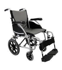 karman s ergo ergonomic transport wheelchair with fixed arms