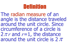 traveled definition images Y x radian the length of the arc above the angle divided by the jpg