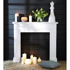 Wohnzimmer Dekoration Kaufen Deko Kaminumrandung Weiß Freeport интерьер Pinterest