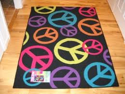peace sign bedroom amazon com girls bedroom decor large peace sign room rug black lime