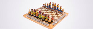 mini tribal chess set kumbula shop