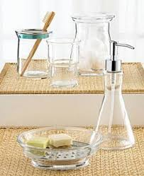 apothecary jars for the bathroom apartment therapy