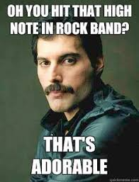 Freddie Meme - rest in peace you glorious fucker singers queens and rock