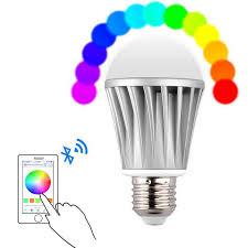 bluetooth music light bulb rst01bl e27 7w wireless bluetooth 4 0 music smart rgb 28 led light