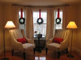 Front Windows Decorating Bay Window Decorated For For The Home Pinterest